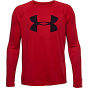 Under Armour Boys' UA Tech Big Logo Long Sleeve Shirt