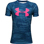 Under Armour Boys' UA Tech Big Logo Printed T-Shirt