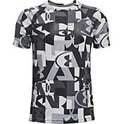 Under Armour Boys' Tech Printed Short Sleeve T-Shirt