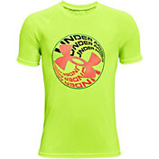Under Armour Boys' Tech Glow Circle T-Shirt