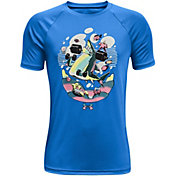 Under Armour Boys' Tech Shark Lift Short Sleeve T-Shirt