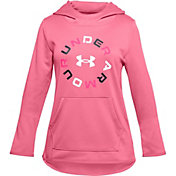 Under Armour Girls' Graphic Armour Fleece Hoodie