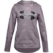 Under Armour Girls' Armour Fleece Logo Textured Hoodie