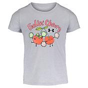 Under Armour Little Girls' Feelin' Cheery T-Shirt