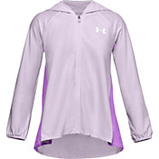 Under Armour Girls' Play Up Knit Full Zip Hoodie