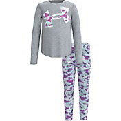 Under Armour Little Girls' Abstract Print T-Shirt and Leggings Set