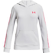 Under Armour Girls' Rival Terry Pullover Hoodie