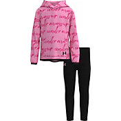 Under Armour Little Girls' Signature Hoodie and Leggings Set