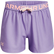 Under Armour Girls' Play Up Solid Shorts