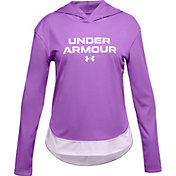 Under Armour Girls' Tech Graphic Hoodie