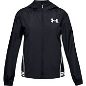 Under Armour Girls' Woven Play Up Jacket
