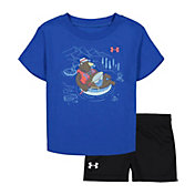 Under Armour Infant Boys' Bear Tube T-Shirt and Shorts 2-Piece Set