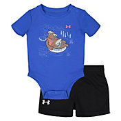 Under Armour Infant Boys' Bear Tube Onesie and Shorts 2-Piece Set