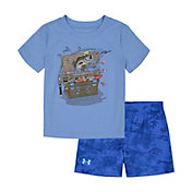 Under Armour Infant Boys' Tackle Box T-Shirt and Shorts 2-Piece Set