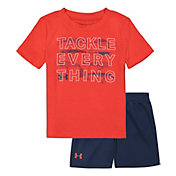 Under Armour Infant Boys' Tackle Everything T-Shirt and Shorts 2-Piece Set