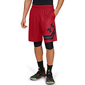 "Under Armour Men's Baseline 10"" Court Basketball Shorts (Regular and Big & Tall)"