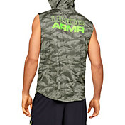 Under Armour Men's Baseline Sleeveless Hoodie