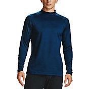 Under Armour Men's ColdGear Infrared Long Sleeve Golf Mock Shirt