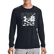 Under Armour Men's Camo Box Logo Long Sleeve T-Shirt
