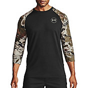 Under Armour Men's Freedom Flag Utility ¾ Sleeve T-Shirt