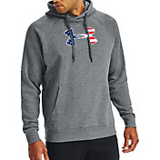 Under Armour Men's Freedom Rival Big Flag Logo Hoodie