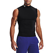Under Armour Men's HeatGear Compression Mock Sleeveless Shirt