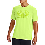 Under Armour Men's Locker Tag Wordmark Short Sleeve T-Shirt