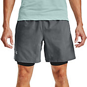 Under Armour Men's Launch SW 2-in-1 7'' Shorts