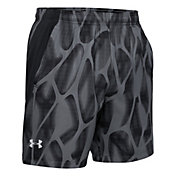 Under Armour Men's Printed 7'' Running Shorts (Regular and Big & Tall)