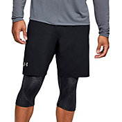 Under Armour Men's Printed Launch SW 2-in-1 9'' Shorts