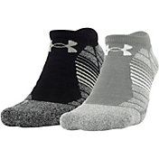 Under Armour Elevated Performance No Show Socks - 2 Pack