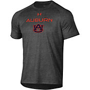 Under Armour Men's Auburn Tigers Grey Tech Performance T-Shirt