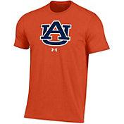 Under Armour Men's Auburn Tigers Orange Performance Cotton T-Shirt