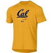 Under Armour Men's Cal Golden Bears Gold Tech Performance T-Shirt