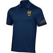 Under Armour Men's Cal Golden Bears Blue Coaches Sideline Polo