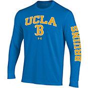 Under Armour Men's UCLA Bruins True Blue Performance Cotton Long Sleeve T-Shirt