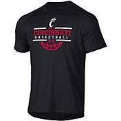 Under Armour Men's Cincinnati Bearcats Black Tech Performance Basketball T-Shirt