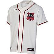 Under Armour Men's Cincinnati Bearcats Replica Baseball White Jersey