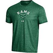 Under Armour Men's Colorado State Rams Green Bi-Blend Performance T-Shirt