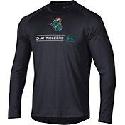 Under Armour Men's Coastal Carolina Chanticleers Long Sleeve Tech Performance Black T-Shirt