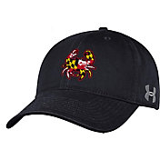 Under Armour Men's Maryland Terrapins Black Adjustable Hat
