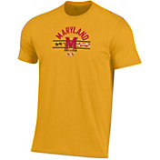 Under Armour Men's Maryland Terrapins Gold 'Maryland Pride' Performance Cotton T-Shirt