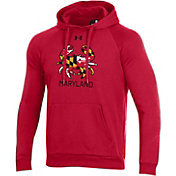 Under Armour Men's Maryland Terrapins Red 'Maryland Pride' All Day Pullover Hoodie