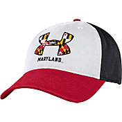 Under Armour Men's Maryland Terrapins 'Maryland Pride' Spectator Adjustable White Hat