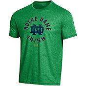 Under Armour Men's Notre Dame Fighting Irish Green Bi-Blend Performance T-Shirt