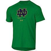 Under Armour Men's Notre Dame Fighting Irish Green Tech Performance T-Shirt
