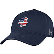 Under Armour Men's Notre Dame Fighting Irish Navy American Adjustable Hat