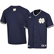 Under Armour Men's Notre Dame Fighting Irish Navy Replica Baseball Jersey