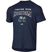 Under Armour Men's Notre Dame Fighting Irish Navy Tech Performance T-Shirt