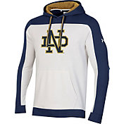 Under Armour Men's Notre Dame Fighting Irish Iconic Pullover White Hoodie